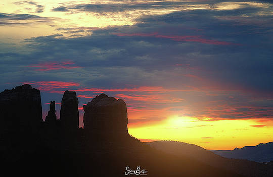 Cathedral Sunset by Stacy Burk