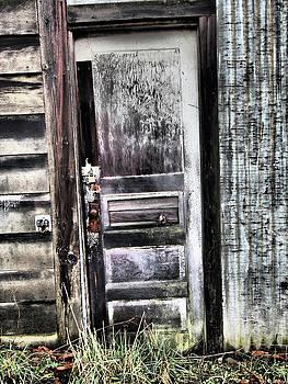 Cathlamet Warehouse Door by Kevin Felts