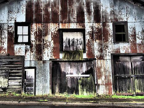 Cathlamet Warehouse by Kevin Felts