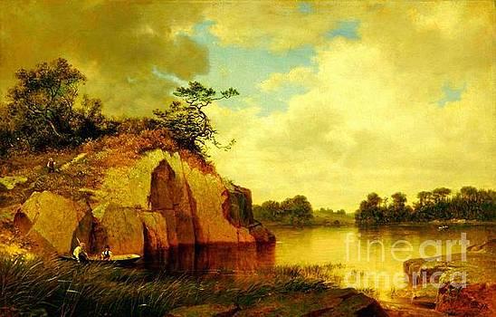 Peter Gumaer Ogden - Catnip Island Near Greenwich Connecticut 1878