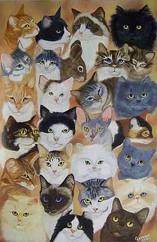 Cats by Debbie LaFrance