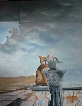 Cats downtrodden by Carlos Godinho