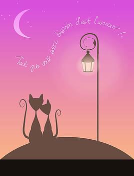 Cats in Love by Kori Jones