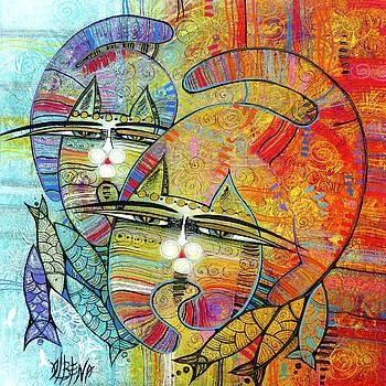Cat's Paradise by Albena Vatcheva
