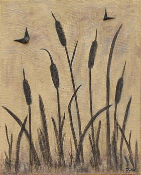 Cattails 2 by Trish Toro