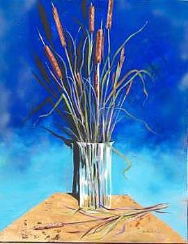 Cattails by Stan  Sternbach