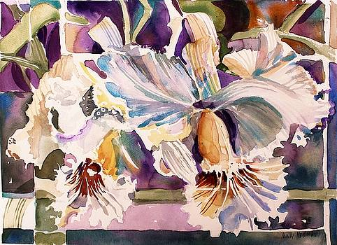 Cattleya abstract by Mindy Newman