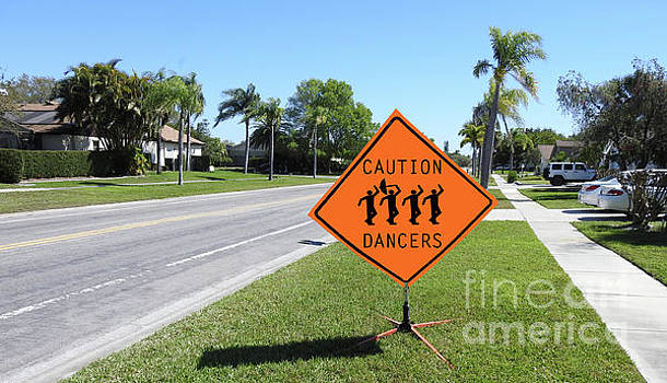 Caution Dancers by Larry Mulvehill