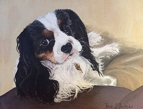 Lily the Cavalier King Charles Spaniel by Karen Dortschy