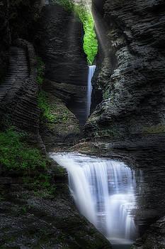 Cavern Cascade by Bill Wakeley