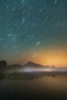 Cawfield Star Trail by David Taylor
