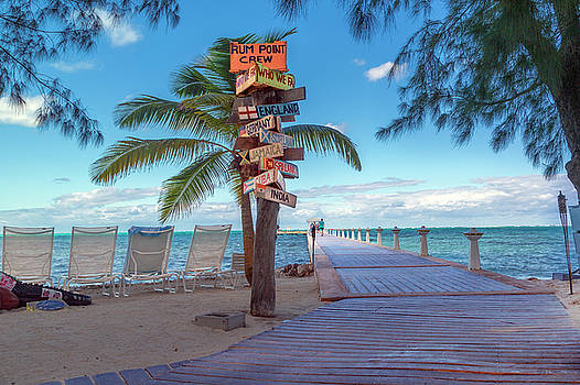 Cayman Islands Rum Point Lazy Day by Betsy Knapp