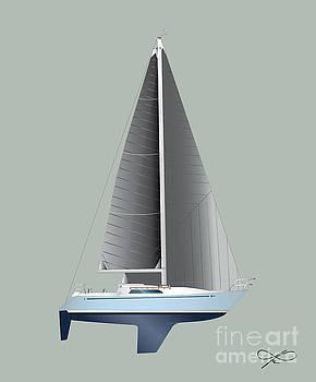 CC Gallant Sailing by Regina Marie Gallant