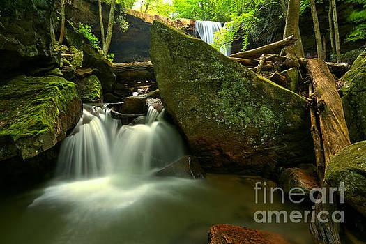Adam Jewell - Ccumber Falls Canyon Cascades