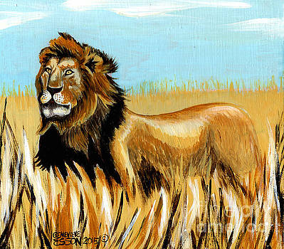 Genevieve Esson - Cecil The Lion