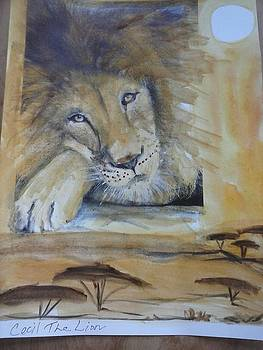 Cecil the Lion by Lisa LaMonica