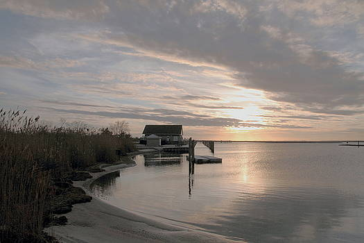 Cedar Beach Sunset by Linda C Johnson