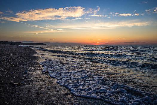 Cedar Beach Sunset by Roderick Breem