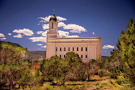 Cedar City Utah Temple by David Simpson