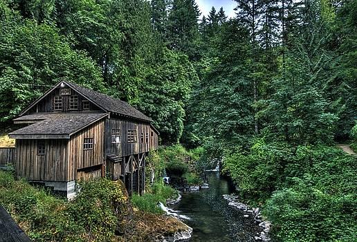 Cedar Creek Grist Mill by Brad Granger
