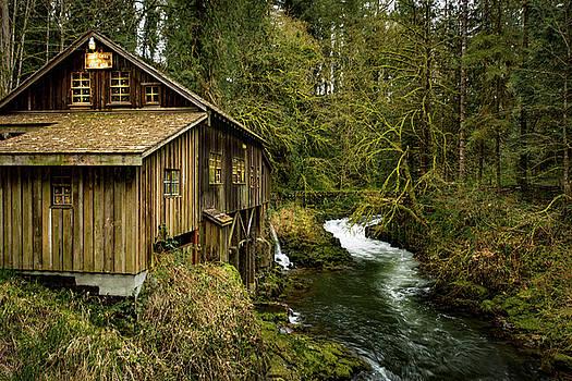 Cedar Creek Grist Mill by Joy McAdams