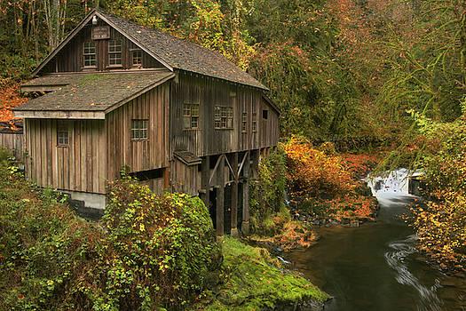 Washington's Cedar Creek Grist Mill dates to 1876. by Larry Geddis