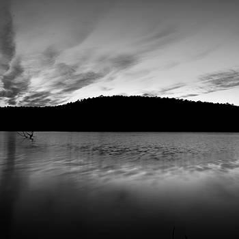 Cedar Lake BW by Nathan Hillis