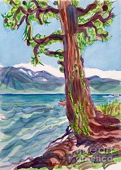 Cedar, Lake Tahoe by Virginia Vovchuk
