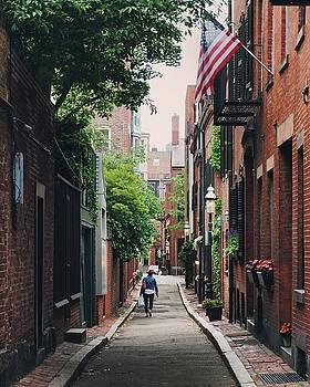 Cedar Lane Way by Brian McWilliams