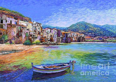 Cefalu Sicily Italy by Jane Small