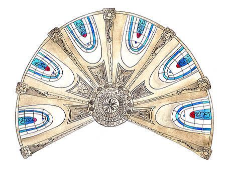 Anna Elkins - Ceiling of Saint Etienne