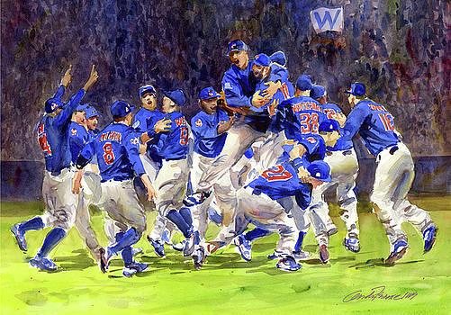 Celebrate Chicago Cubs  World Series Champs by Gordon France