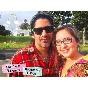 Celebrating Three Years! Happy by Claudia Garcia Trejo