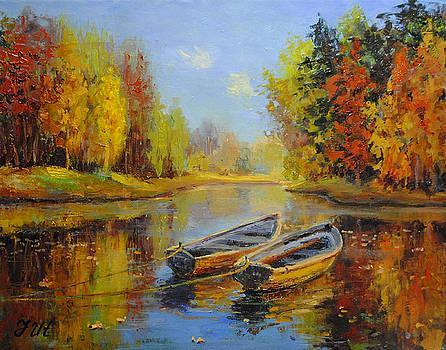 Celebrational autumn. by Julia Utiasheva