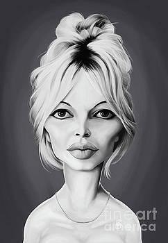 Celebrity Sunday - Brigitte Bardot by Rob Snow