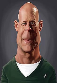 Celebrity Sunday - Bruce Willis by Rob Snow
