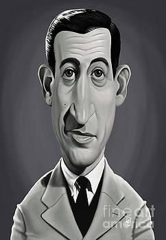 Celebrity Sunday - J.D.Salinger by Rob Snow