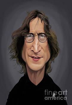 Celebrity Sunday - John Lennon by Rob Snow