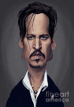 Celebrity Sunday - Johnny Depp by Rob Snow