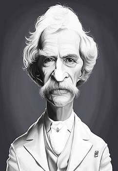 Celebrity Sunday - Mark Twain by Rob Snow