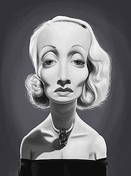 Celebrity Sunday - Marlene Dietrich by Rob Snow