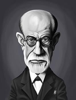 Celebrity Sunday - Sigmund Freud by Rob Snow