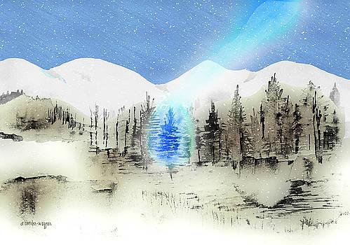 Celestial Beam by Arline Wagner