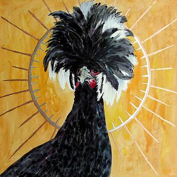 Celestial Chicken - Lady Hawk by Kirsten Beitler