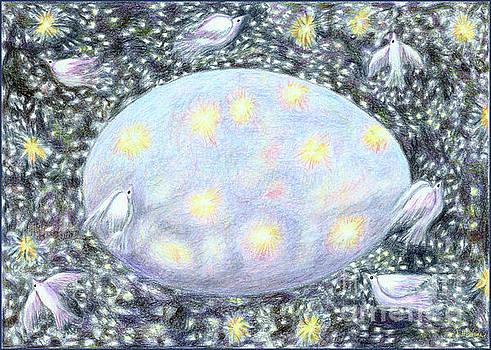 Celestial Egg by Lise Winne