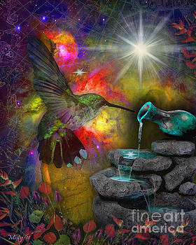 Celestial Hummingbird by Misty Frederick-Ritz
