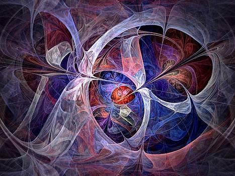 Celestial North - Fractal Art by NirvanaBlues