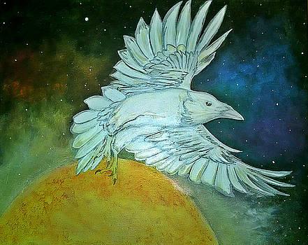 Celestial Raven by Siobhan Shene