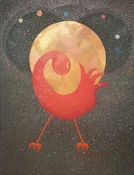 Celestial Sankofa  by Greg Roberson