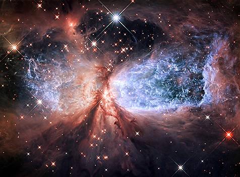 Adam Romanowicz - Celestial Snow Angel - Enhanced - Sharpless 2-106
